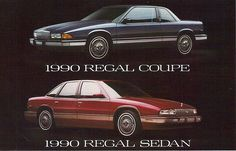 1990 Buick Regal Coupe and Regal 4 Door sedan | Flickr - Photo Sharing!
