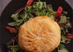 Recette - Feuilleté au Camembert, lardons et pommes de terre en vidéo