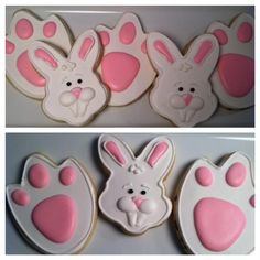 Easter bunny and feet | Cookie Connection