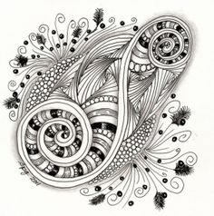 zentangles for beginners | Zentangle Patterns For Beginners | Life ...