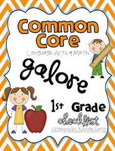 What the Teacher Wants!: Common Core Checklists for K-5 {Math and ELA}