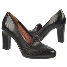 Women's Naturalizer Ariana Black Leather/Black Naturalizer.com 3.5 inch heel $109
