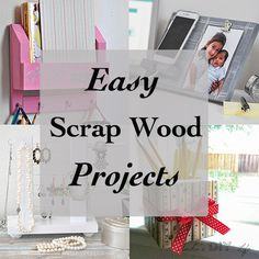 Scrap wood projects that are fun, easy and quick to make. These small wood projects also make the perfect kids or beginners woodworking projects!