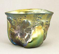 Louis Comfort Tiffany - Boccia di Vetro vulcanico - 1908 vasos tiffany de louis comfort - Pesquisa Google