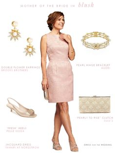 This pink blush mother of the bride dress, will suit the mother of the bride or mother of the groom in a spring or summer wedding. More MOB dresses to see too!