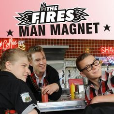 single cover art: the fires - man magnet [2012]