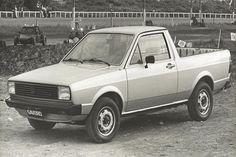 Primeira geração Volkswagen Saveiro https://www.consorciodeautomoveis.com.br/noticias/volkswagen-saveiro-atinge-1-milhao-de-unidades-produzidas?idcampanha=206&utm_source=Pinterest&utm_medium=Perfil&utm_campaign=redessociais