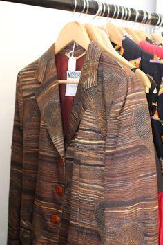 moschino wood print blazer. funny.