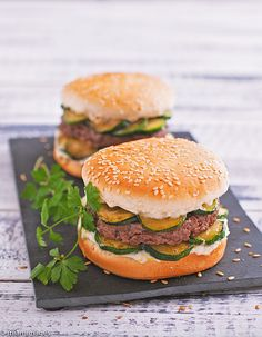 #Recette - #Burger de courgettes au gorgonzola #FOOD