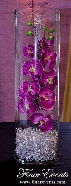 Cristal y flor