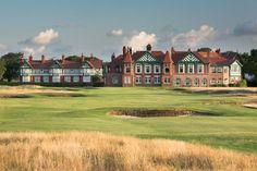 The spectacular Royal Lytham & St. Annes Golf Club