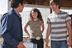 Heartland- Scott, Ty, and Kit.  I really love Ty- Scott is cool- but Kit.... She makes everything so challenging!
