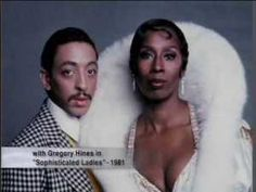 Judith Jamison and Gregory Hines for Sophisticated Ladies