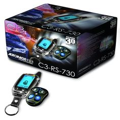 Best Car Alarm on The Market -   AutoPage Chrome LCD Alarm with Remote C...