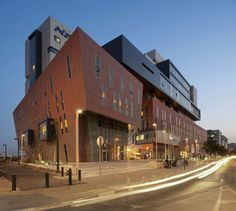 Assuta Medical Center - Tel Aviv, Israel;  designed by Zeidler Partnership Architects + Moore Architects + M. Brestovisky Architects;  photo by Tom Arban