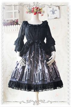 Infanta Hime Sleeves Lolita Blouse - 5 Colors Available - My Lolita Dress