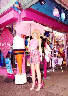 kali uchis models sophia webster's new barbie shoe collection | read | i-D