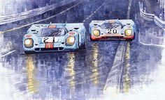 Gulf-Porsche 917 K Spa Francorchamps 1970