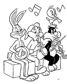 looney tunes coloring pages looney tunes coloring page print looney tunes pictures