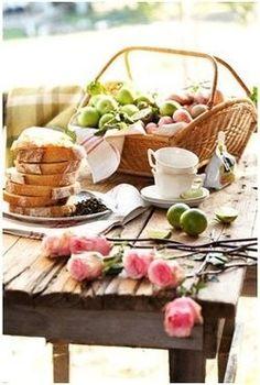 Beautiful Picnic Basket
