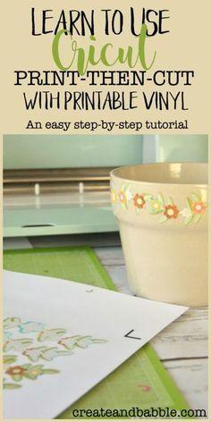 Learn Cricut Print Then Cut in Three Easy Steps