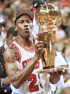 This Day In Basketball History: 1996 - Paced by Michael Jordan's 22 points and seven assists, Chicago defeats visiting Seattle, 87-75, in Game 6 of the NBA Finals, winning the series 4-2 and clinching the Bulls' fourth NBA Championship in six seasons. Jordan becomes the only player ever to win the NBA Finals MVP Award four times, after averaging 27.3 points, 5.3 rebounds and 4.2 assists per game in the championship se...