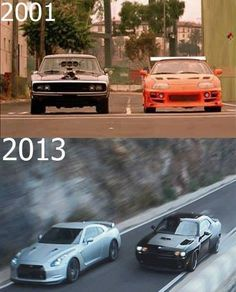 Evolution of the fast and furious
