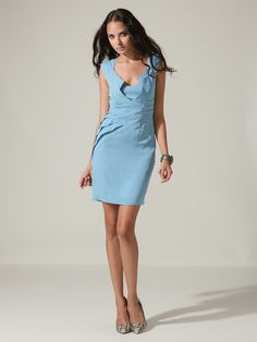 Zac Posen Silk Fold Dress