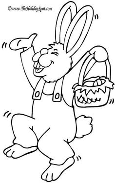 Keep Your Kids Entertained with Thousands of Easter Coloring Pages: Easter Coloring Pages at The Holiday Spot