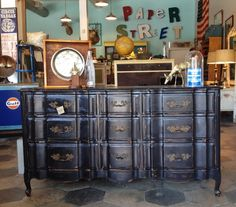 paper street antiques local vintage furniture store in tampa bay area