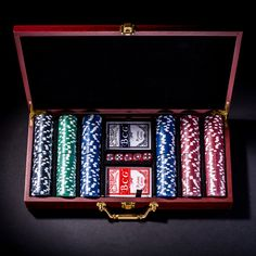 Personalized Poker Chip Set - Kustom Products Inc