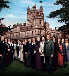 Downton Abbey Season 4 Official Promo Photo. Oh, it hurts to not see Matthew or Sybil here. :(