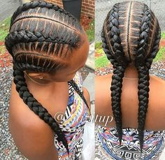 Natural Hairstyle Tips: Too Tight to Think Natural Braided Hairstyles, Protective Hairstyles For Natural Hair, Hairstyles With Bangs, Girl Hairstyles, Braid Hairstyles, French Braided Bangs, Medium Hair Styles, Natural Hair Styles, Fringe Haircut