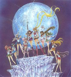 sailor moon pictures | Sailor Moon's 20th Anniversary
