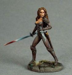 Female Rogue - Dual Wield