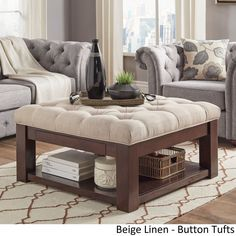 This versatile piece offers the comfort of an ottoman and the
