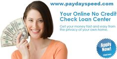 Get moment $ 600 www.paydayspeed.com Orlando Florida no financial records moment $800 money ontime wire exchange. You can likewise apply moment $ 300 credit PayDaySpeed.com New Orleans Louisiana awful credit alright .
