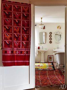 Dywan w łazience