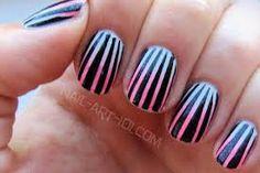 decoraciones de uñas rayas - Buscar con Google