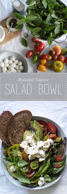 My beautiful caprice salad bowl
