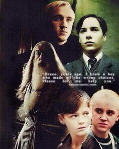 Dumbledore & Draco; Harry Potter and the Half-Blood Prince - J. K. Rowling #TomRiddle #Choices