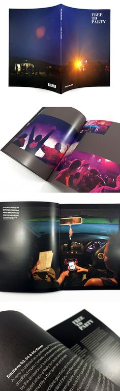 Vibrant photo book printing, 'Free To Party' by Phil Clarke-Hill. Like the look of this and want to print a similar book? The spec is: Books. Cover onto Uncoated. Matt Lamination to outer. Text onto Silk. Photo Book Printing, Booklet Printing, Self Publishing, Creative Business, Envy, Indigo, Digital Prints, Bulb, Vibrant