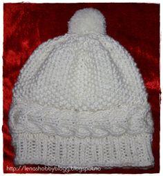 Lenashobbyblogg: Strikkeluer Knitted Hats, Winter Hats, Beanie, Knitting, Fashion, Moda, Tricot, Fashion Styles, Knit Caps