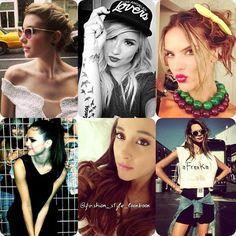 GAME TIMEWHO HAD THE MOST STYLISH INSTAGRAM THIS WEEK ?? #emmaroberts#demilovato#alessandraambrosio#selenagomez#arianagrande#behatiprinsloo#style #fashion #instastyle #instafashion #beautiful #ootd #hot #disney #model #inspiration #fashionista #fashionicon  #styleicon #perfection #celebrity #streetstyle #hipster #vs #angel #victoriassecret #streetfashion #classy #love #weheartit... - Celebrity Fashion