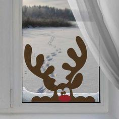 Christmas Window Decorations, Christmas Door, Christmas Crafts For Kids, Simple Christmas, Holiday Crafts, Christmas Holidays, Xmas, Christmas Ornaments, Christmas Island