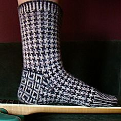 Ravelry: Hollaback Socks pattern by Kate Atherley