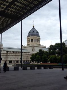 The Exhibition Buildings, Melbourne,  Vic