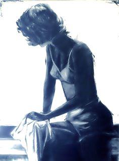 Playing the blues by Janel - Velvenoir #art #velvenoir
