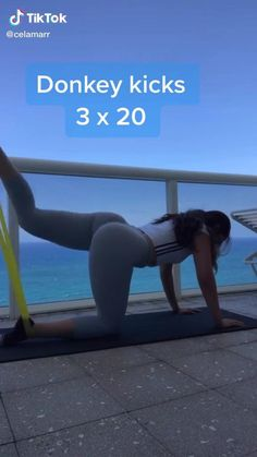 Full Body Gym Workout, Bum Workout, Gym Workout Videos, Gym Workout For Beginners, Fitness Workout For Women, Leg And Glute Workout, At Home Workouts, Glute Exercises, Workout Rooms