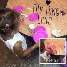Quick and Easy DIY Ring Light under $30